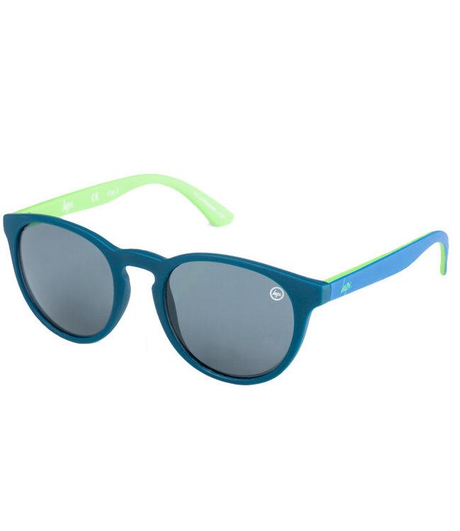 Hype Sunglasses Hyperound Sunglasses Navy Lime 106