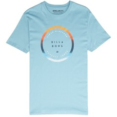 Billabong Rotated T-Shirt Aqua Blue