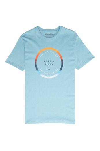 Billabong Rotated T-Shirt Aqua Blue