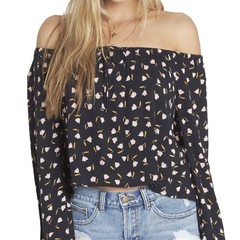 Billabong Light It Up Top Black