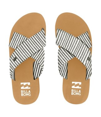 Billabong Boardwalk Flip Flops Black White