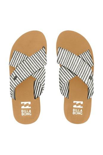Billabong Boardwalk Flip Flops Black White