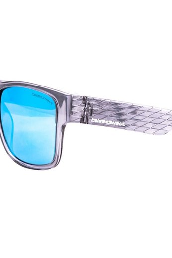 Triggernaut Harper Sunglasses Crystal Grey Revo Blue White