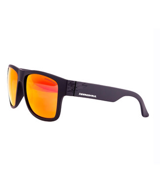 Triggernaut Harper Sunglasses Raven Black Revo Red Orange