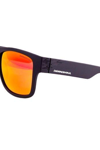Triggernaut Harper Sunglasses Raven Black Revo Red Orange