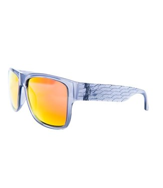 Triggernaut Harper Sunglasses Crystal Grey Revo Red Orange