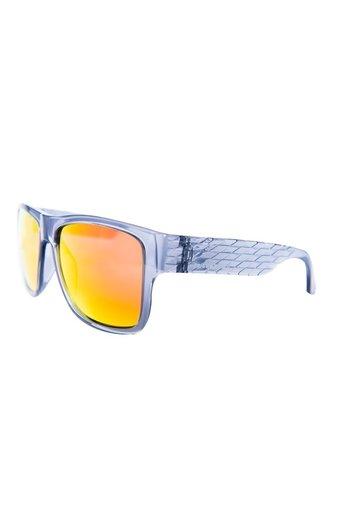 Triggernaut Harper Sunglasses Crystal Grey Revo Red Orange