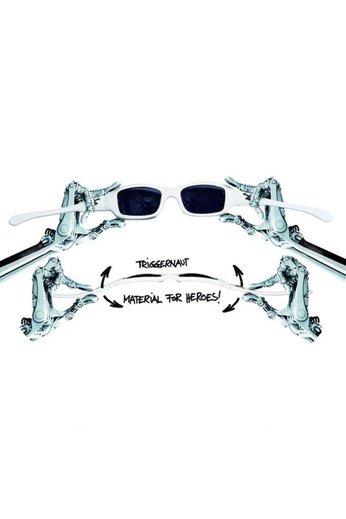 Triggernaut Dusk Sunglasses White Shark