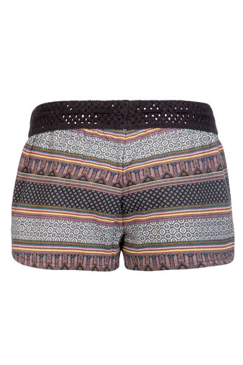 Protest Flowery 19 Shorts Coral Blaze