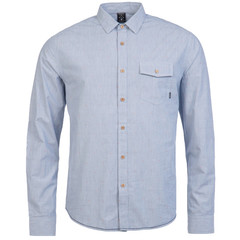 Protest Heaton Shirt Medium Blue
