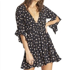 Billabong Love Light Dress Black