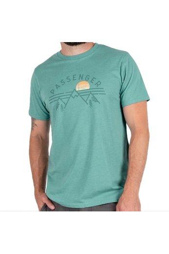 Passenger Banff T-Shirt Green Marl