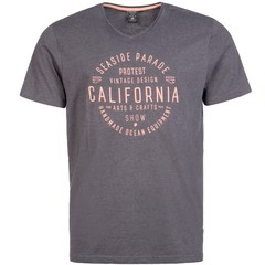Protest Bawsey T-Shirt Deep Grey