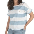 Passenger Souris Top Blue White Stripe