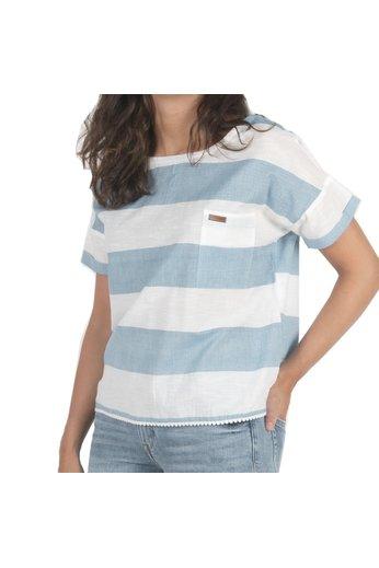 Passenger Souris Top Blue White Stripe