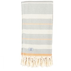 Passenger Salutation Beach Towel Grey Orange