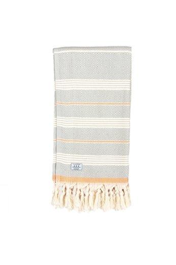 Passenger Salutation Beach Towel Grey Orange