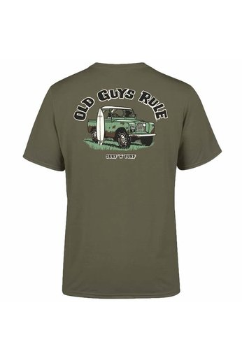Old Guys Rule Surf & Turf T-Shirt