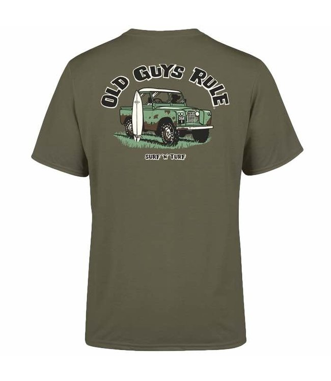 Old Guys Rule Surf & Turf T-Shirt DS