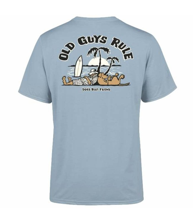 Old Guys Rule Dogs Best Friend 2 T-Shirt