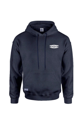 Old Guys Rule Local Legend Hoody Heather Navy