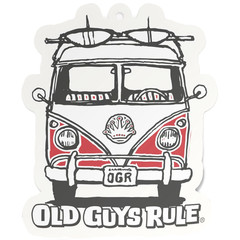 Old Guys Rule Good Vibes Air Freshener