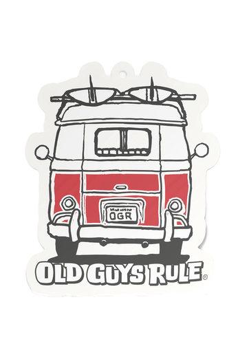 Old Guys Rule Good Vibes Air Freshener
