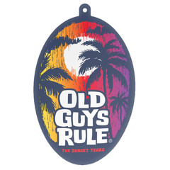 Old Guys Rule Sunset Years Air Freshener