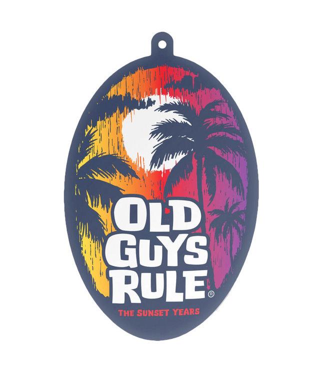 Old Guys Rule Sunset Years Air Freshener