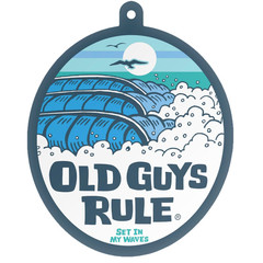 Old Guys Rule High/Waves Air Freshener