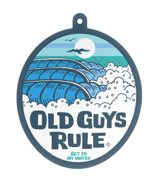 Old Guys Rule High/Waves Air Freshener