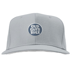 Old Guys Rule Stacked Circle Logo Cap - Charcoal