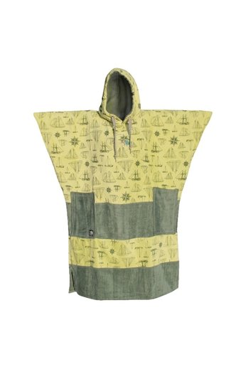 All-In V-Bumpy Changing Robe Poncho Boat/Sapin