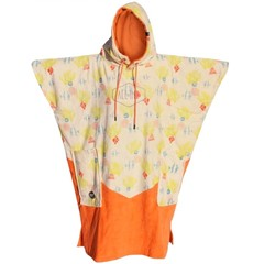 All-In V-Bumpy Changing Robe Poncho Aquarium/Coral