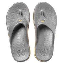 Reef One Flip Flops Grey/Yellow