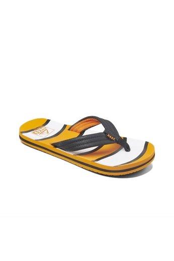 Reef Kids Ahi Flip Flops Orange Fish