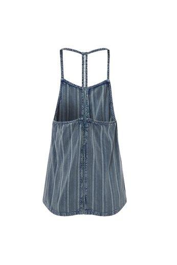 O'Neill Clothing Rockaway Park Top Dusty Blue
