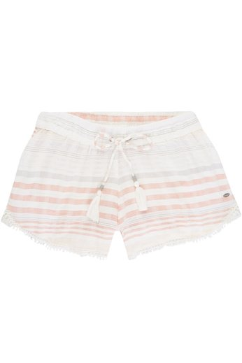 O'Neill Clothing Jacquard Lace Detail Shorts White AOP
