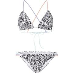 O'Neill Clothing Capri Lucia Bikini White AOP