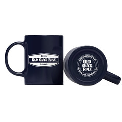 Old Guys Rule Local Legend Mug Navy