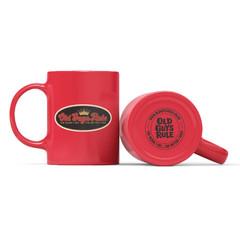 Old Guys Rule Older I Get Mug Red