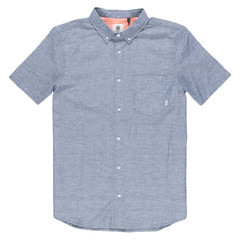 Element Greene Neps S/S Shirt Navy