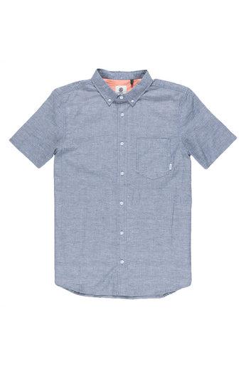 Element Greene Neps S/S Shirt Navy