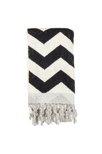 Passenger Riverbed Beach Towel Black White