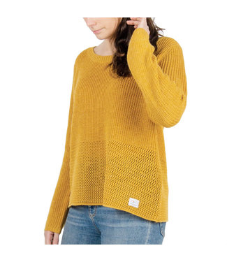 Passenger Songbird Knit Jumper Ochre Yellow