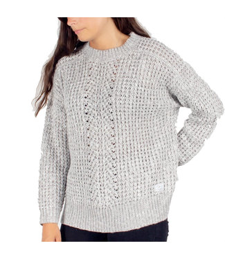 Passenger Greenland Knit Jumper Light Grey