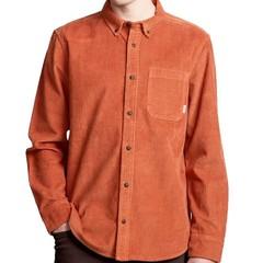 Element Lumber Cord LS Shirt Ginger