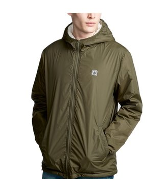 Element Elkins Alder Sherpa Jacket Forest Green