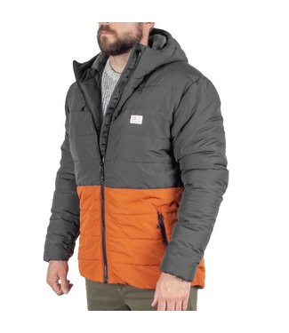 Passenger Patrol Insulated Jacket Charcoal Rust