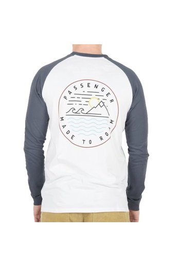 Passenger Dialler L/S T-Shirt Midnight Navy